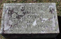 Annie <i>Leatherwood</i> Cowan