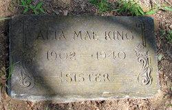 Alta Mae <i>Mobley</i> King