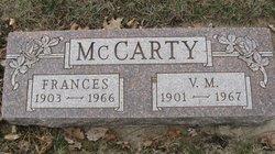 Valentine Marnius V.M. McCarty