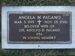 Mrs Angela Julie <i>Rossetti</i> Pagano