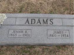 Virginia Rae Jennie <i>Ellis</i> Adams
