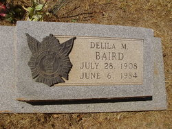 Delila Mildred Miss Delila Baird