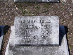 Claude Giles Alexander