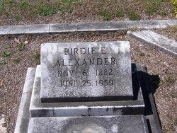Birdie E Alexander