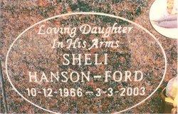 Monica Michelle Sheli <i>Hanson</i> Ford