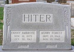 Frances C. Fanny <i>Ambrose</i> Hiter