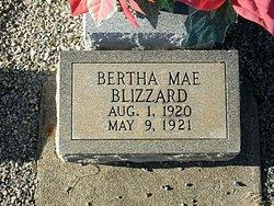Bertha Mae Blizzard