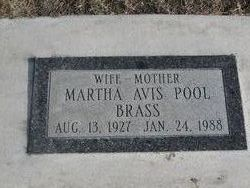 Martha Avis <i>Pool</i> Brass