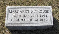 Margaret Maggie <i>Edwards</i> Althouse