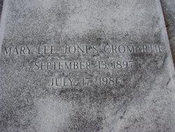 Mary Lee <i>Jones</i> Cromartie