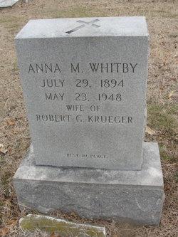 Anna M. <i>Whitby</i> Krueger