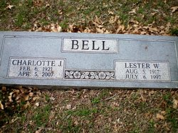 Charlotte <i>Johnston</i> Bell