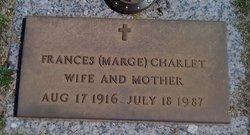 Frances Margaret Marge <i>Smalley</i> Charlet