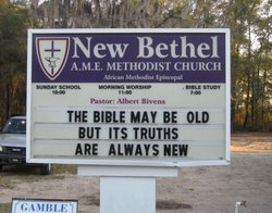 New Bethel A.M.E. Church Cemetery