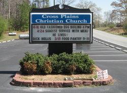 Cross Plains Christian Church Cemetery