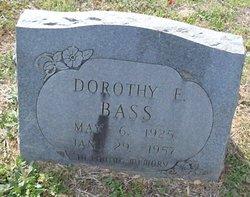 Dorothy E Bass