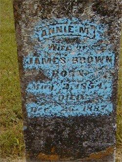 Annie M. <i>Redmon</i> Brown
