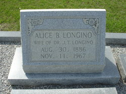 Alice <i>Blackstock</i> Longino