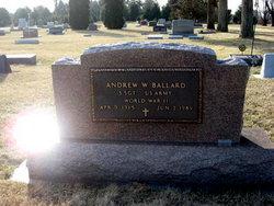 Sgt Andrew W Ballard