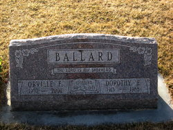 Dorothy <i>Norberg</i> Ballard