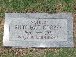 Ruby Mae <i>Reagan</i> Cooper