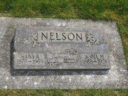 Anna <i>Dahlberg</i> Nelson