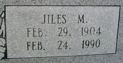 Jiles M. Aldridge