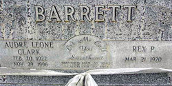 Audre <i>Clark</i> Barrett