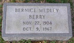 Ella Bernice <i>Medley</i> Berry