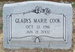 Gladys Marie Cook