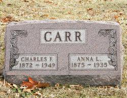 Anna L <i>Vanhorn</i> Carr