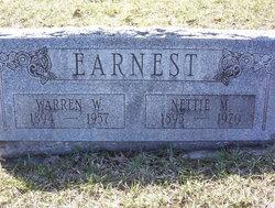 Warren W Earnest