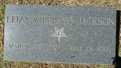 Eliza <i>Williams</i> Jackson