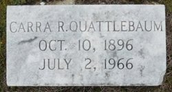 Carra R. Quattlebaum