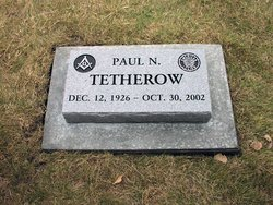 Paul Nathan Tetherow