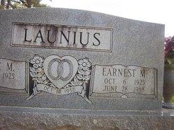 Earnest M Launius