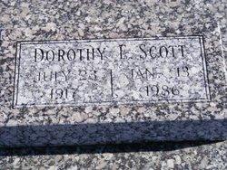 Dorothy E Scott