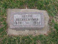 Anna Bernettie Nettie <i>Southwood</i> Beckelhymer