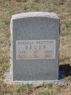 Barbara <i>Wootton</i> Bauer
