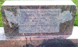 Lieut Heber John Whitesides, Jr