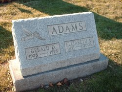 Elizabeth Ann Betty <i>Harvey</i> Adams