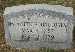 Octie <i>Boone</i> Jones