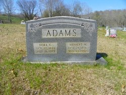 Nora G. <i>Hardesty</i> Adams