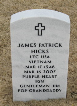 LTC James Patrick Hicks