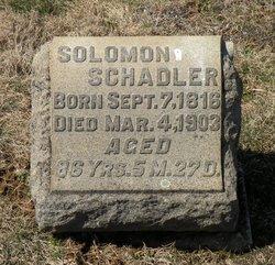 Solomon Schadler