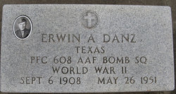 PFC Erwin A Danz