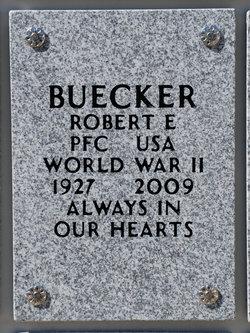 Robert E Buecker