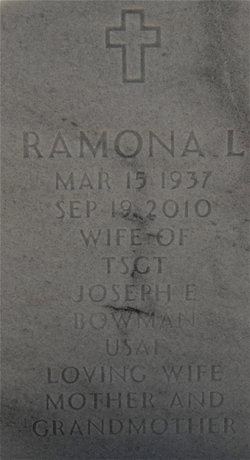 Ramona Lorraine <i>Lewis</i> Bowman