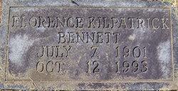 Florence <i>Kilpatrick</i> Bennett