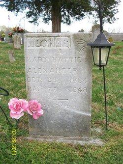 Mary Hattie <i>Conover</i> Alexander